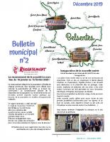 Bulletin municipal n°2 – Décembre 2019