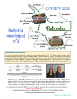 Bulletin Municipal n°3 octobre 2020